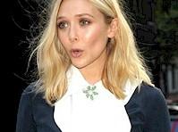 Elizabeth Olsen Panty Upskirt!