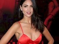 Eiza Gonzalez Cleavage in Red!