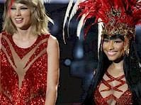 Nicki Minaj and Taylor Swift