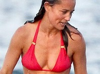 Pippa Middleton in a Red Bikini!