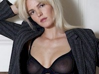 Erin Heatherton Flashing Boob in L'Officiel Hommes Magazine!