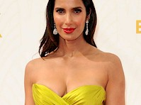 Padma Lakshmi's Cleavage at the 67th annual Emmy Awards!