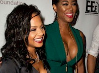Christina Milian and Vivica A. Fox