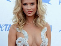 Joanna Krupa Wore a Sexy Dress for PETA!