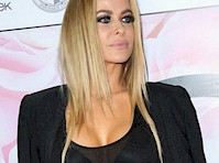 Carmen Electra See Through to Bra!