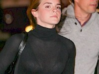 Emma Watson See Through to Bra!