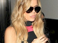 Khloe Kardashian in an Adidas Cat Suit!