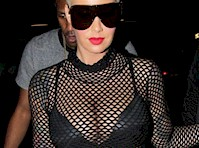 Amber Rose was Appropriately Dressed for the Strip Club!