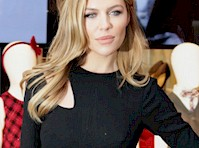 Abbey Clancy Pokies in a Black Dress!