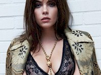 Ashley Benson in a See Through Bra!