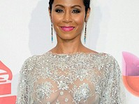 Jada Pinkett Smith Wore a Semi Sheer Top!