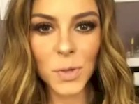 Maria Menounos Showed Cleavage on SnapChat!