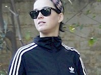 Candids of Katy Perry in Leggings!