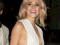 Pixie Lott Cleavage and Sideboob!