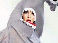 Kendall Jenner is a Hammerhead Shark!