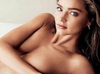 Miranda Kerr See Through in Harper's Bazaar!