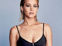 Jennifer Lawrence in Glamour Magazine!