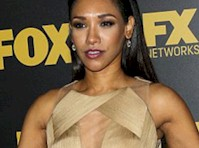 Candice Patton Panty Upskirt!