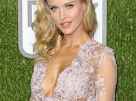 Joanna Krupa Cleavage at the 2016 World Dog Awards!