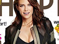 Lauren Cohan is Fit for <em>Shape Magazine!</em>
