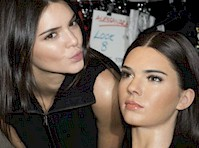Kendall Jenner is Made of Wax!