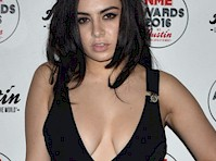 Charli XCX Cleavage At 2016 NME Awards!