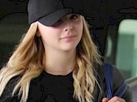 Chloe Moretz Wore Leggings in <em>Hollwood!</em>