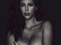 Celeb Fight Over Kim Kardashian's Nude Selfie Results in Another Kim K Nude!