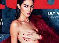 Lily Aldridge for Lui Magazine France