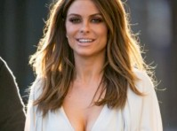 Maria Menounos Cleavage in a Jumpsuit!