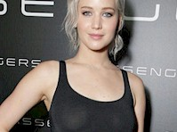 Jennifer Lawrence Ruins See Through with Pasties!