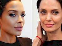 Angelina Jolie Look-a-like Mara Teigen!