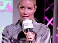 Iggy Azalea Panty Upskirt at a Radio Station!