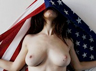 Nude American Model Outtakes!