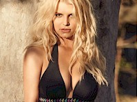 Jessica Simpson Modeled Swimsuits!
