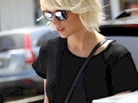 Taylor Swift Wore Super Short Shorts Again!