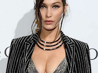Bella Hadid Cleavage at a <em>Cannes Film Festival</em> Party!