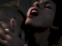 Morena Baccarin Topless in <em>Deadpool</em>!