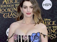 Anne Hathaway's Cleavage at a Movie Premiere!