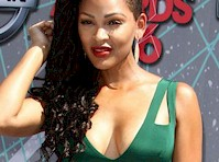 Meagan Good Cleavage at the <em>2016 BET Awards</em>!