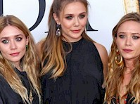 The Olsen Sisters Together in the Same Pictures!