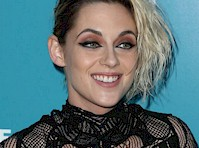 Kristen Stewart Wore a Semi Sheer Dress!
