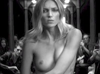 Anja Rubik is Topless in This Music Video!