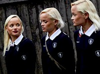 Did You see The Olympic Triplets from <em>Estonia!</em>