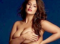 Ashley Graham Posed Nude (but Covered) for <em>Grazia UK!</em>