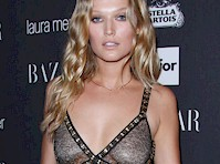 Slight Toni Garrn See Through!