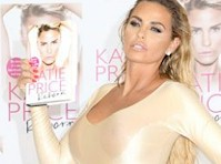 Katie Price is Back in Spandex to Promote a Book!