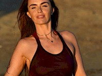Jennifer Metcalfe See Through at the Beach!