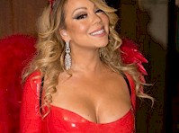 Mariah Carey Dressed Up as the Devil for Halloween!