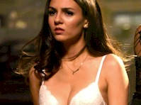 Victoria Justice in a Bra from <em>The Rocky Horror Show!</em>